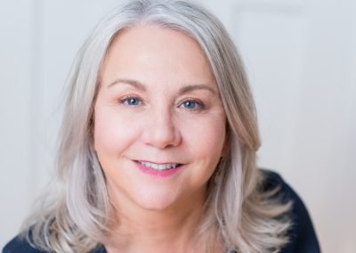 personal headshot taken of our client Catherine Marshall