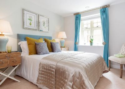 Bedroom shot of our property photography, available across Hampshire, Southampton and the UK.